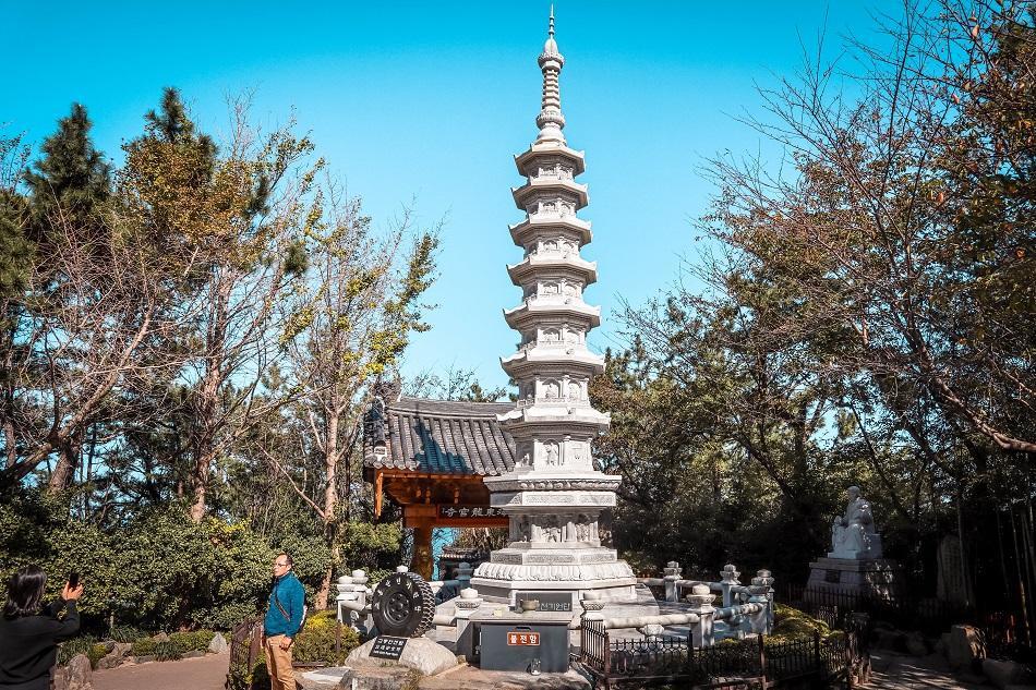 Pagoda at Haedong Yonggungsa Temple, Busan
