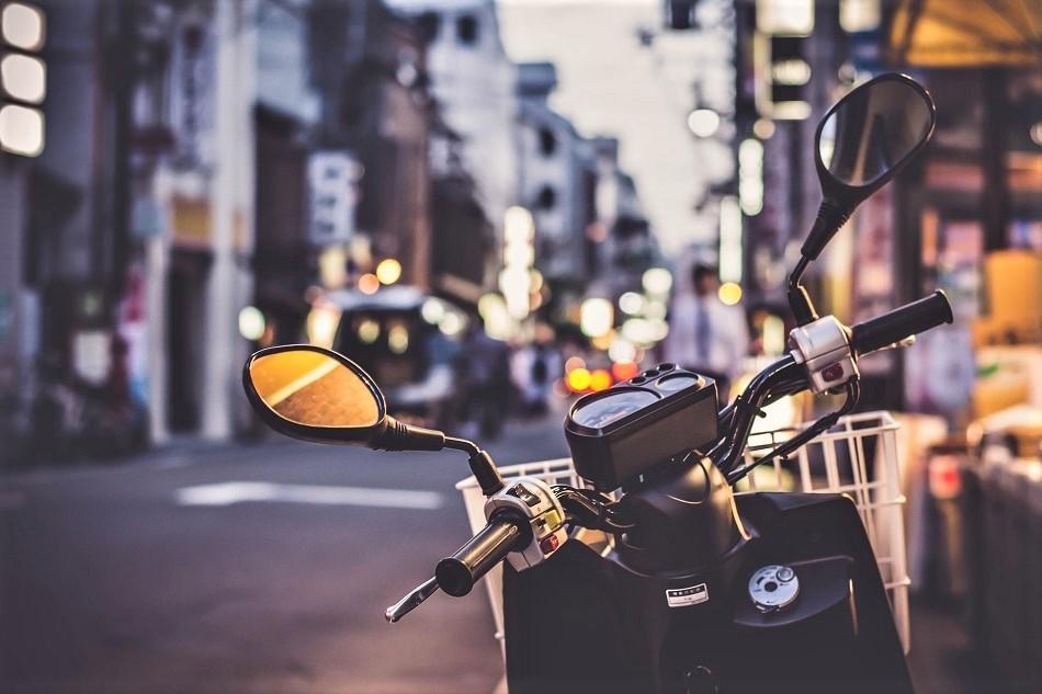 Laos motorbike scam