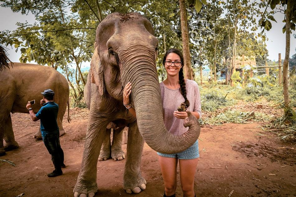 Mandalao Elephant Sanctuary, Luang Prabang, Laos