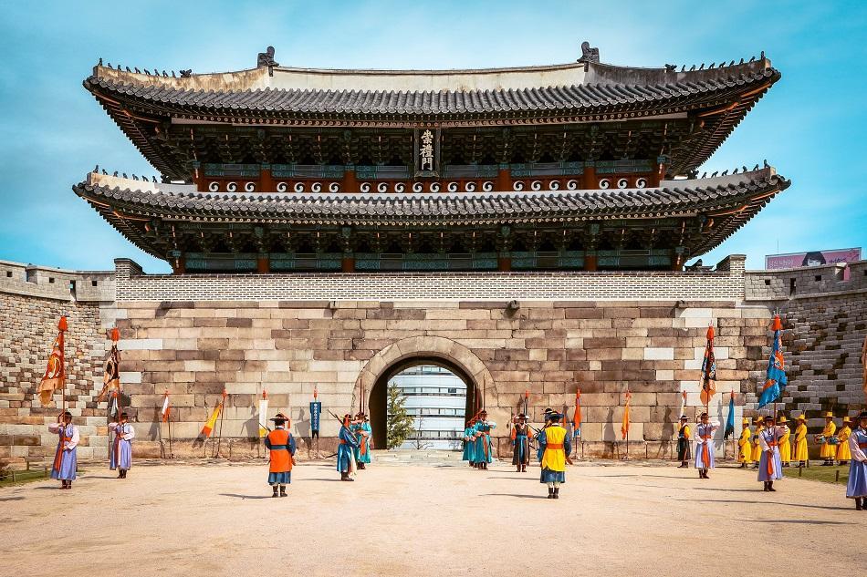 Namdaemum gate change of guard
