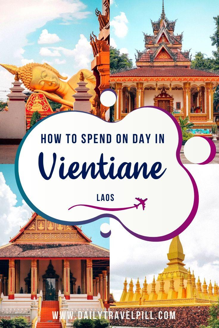 one day in vientiane - itinerary