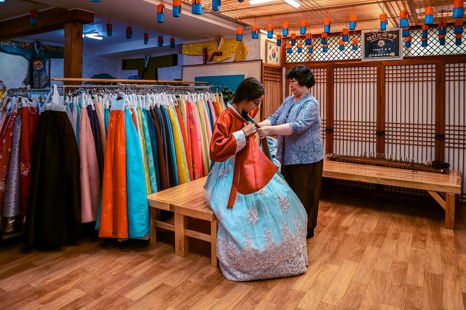 Hanbok rental Seoul