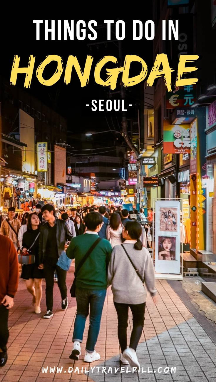 What to do in Hongdae, Seoul