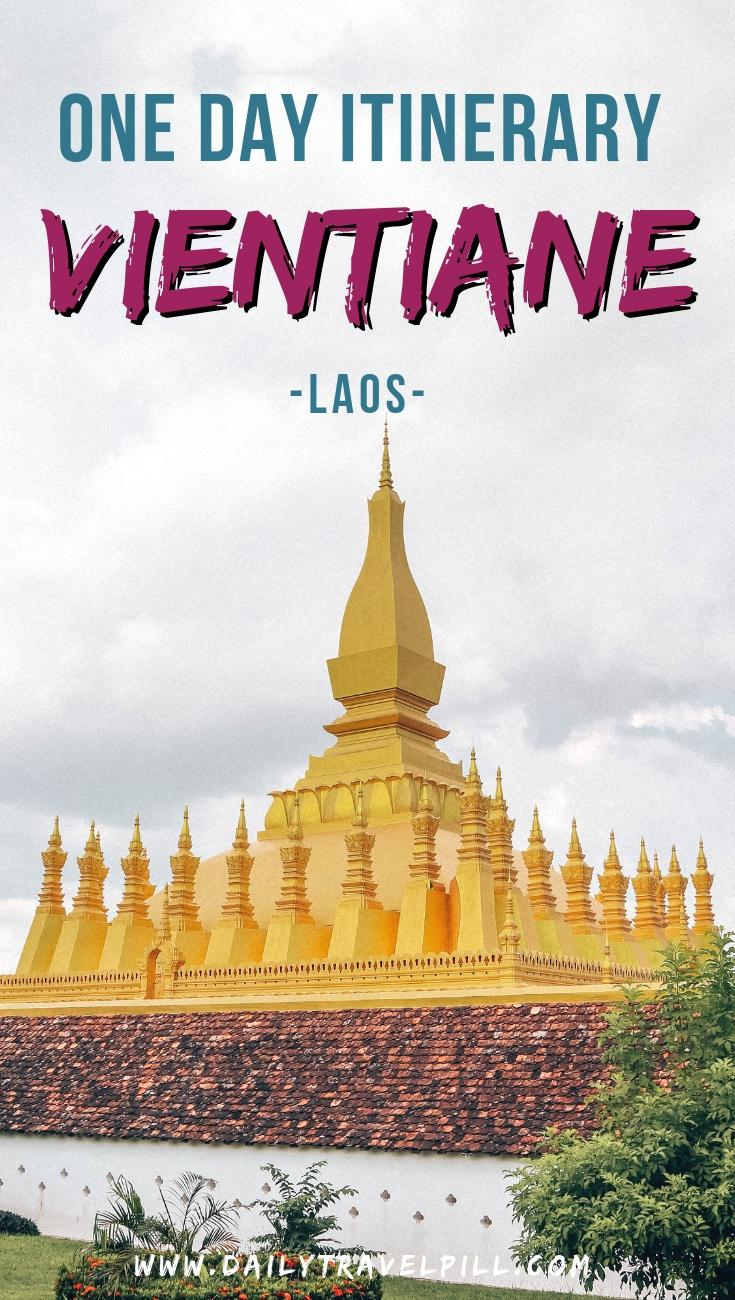 One day in Vientiane itinerary