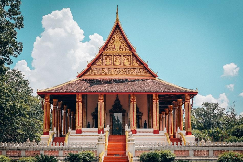 Wat Phra Kaew museum, Vientiane