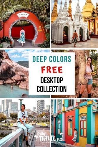 Deep Colors preset collection for desktop
