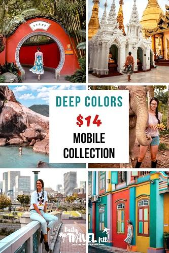 Deep Colors preset collection for mobile
