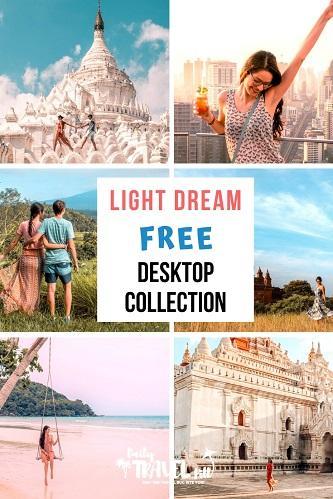 Light Dream preset collection for desktop