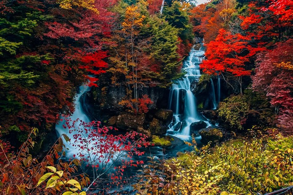 Ryuzu Waterfall, Japan