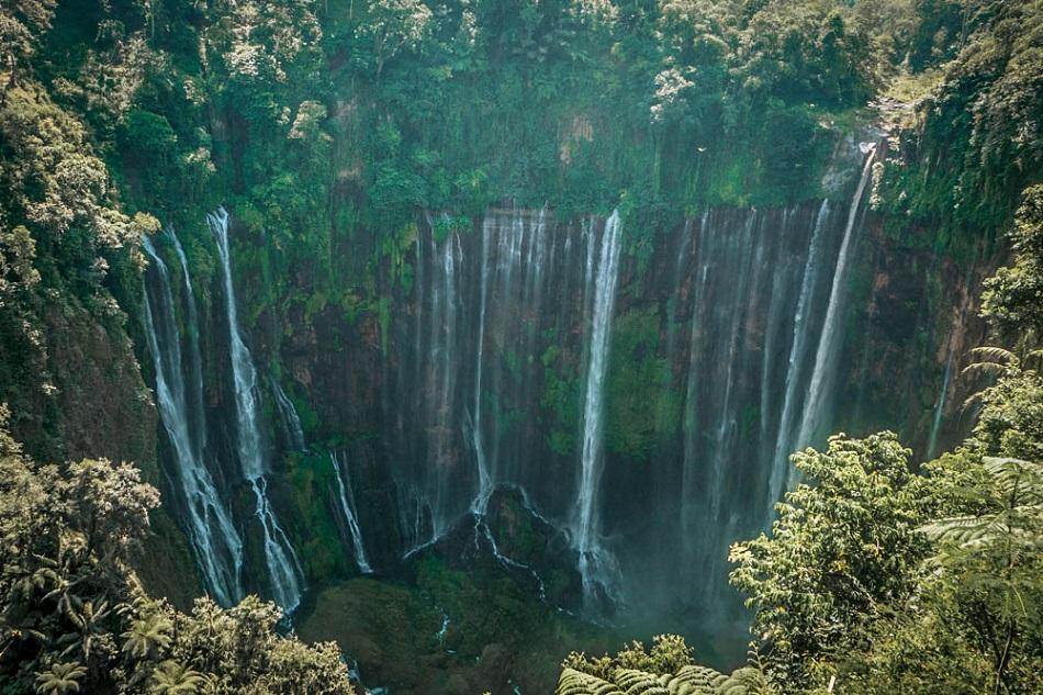 Tumpak Sewu Waterfall, Java