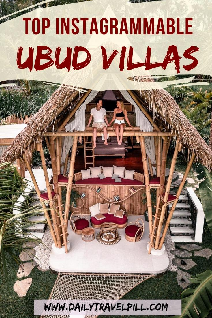best luxury villas in Ubud for photography