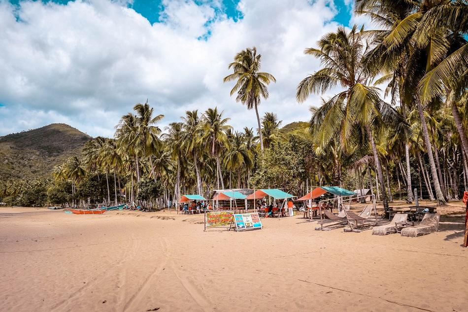 Nagtabon Beach in Puerto Princesa, Palawan