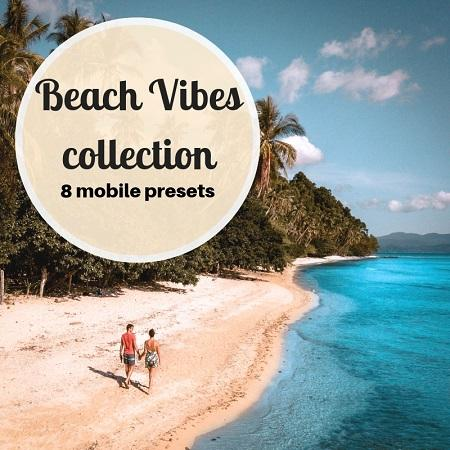 Beach Vibes Preset Collection - for mobile - Daily Travel Pill