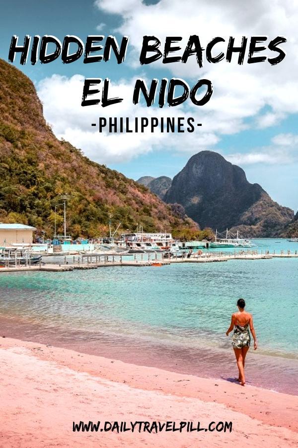 The best beaches in El Nido