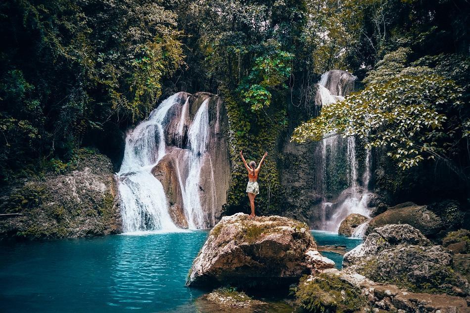 Pahangog Waterfall Bohol
