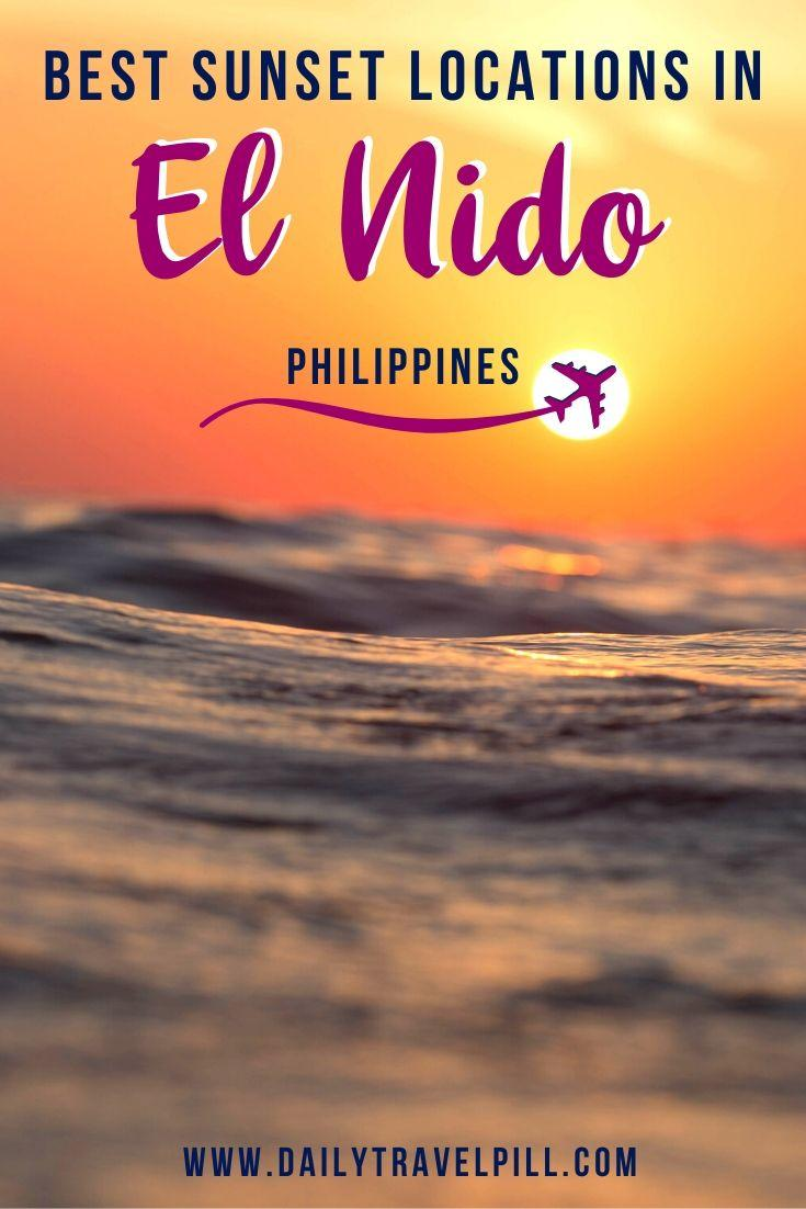 Best sunset locations in El Nido