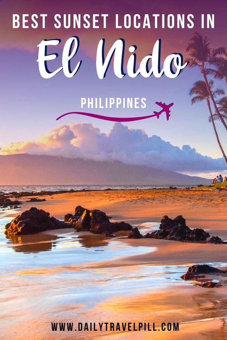 Best sunset locations in El Nido