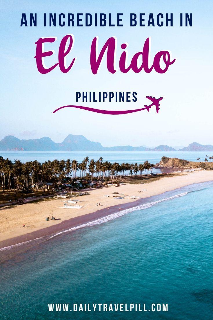 Nacpan Twin Beach El Nido, Palawan