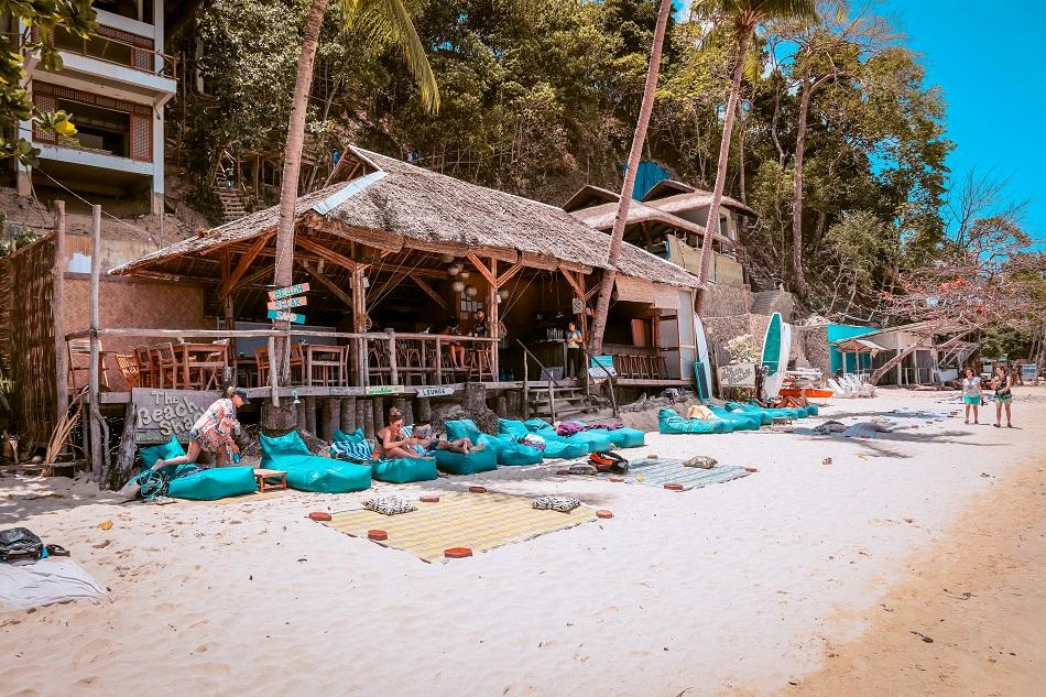Las Cabanas Beach El Nido restaurant