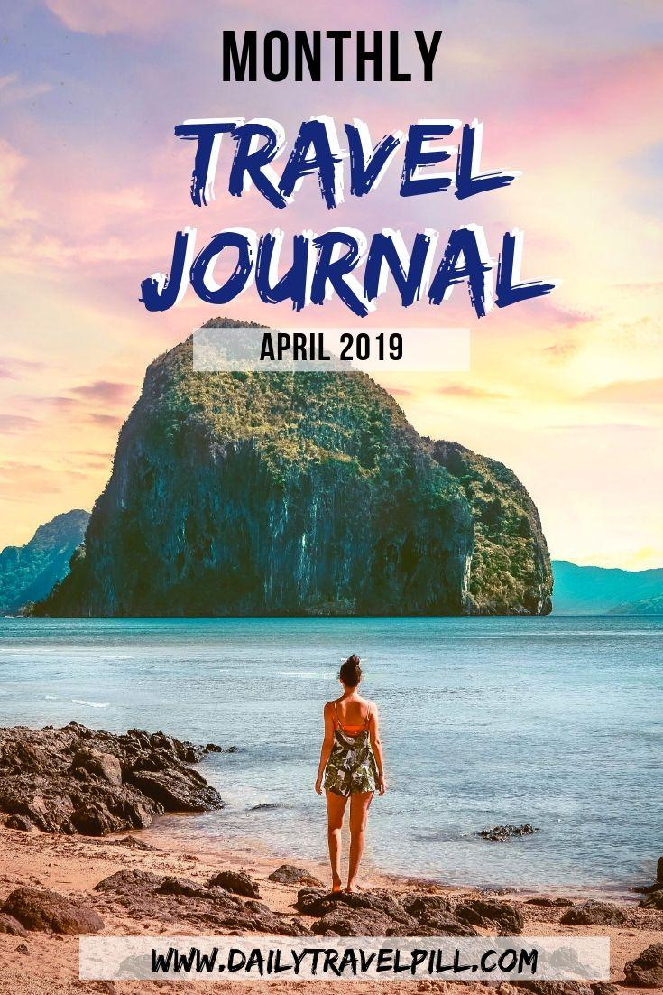 Monthly Travel Journal April