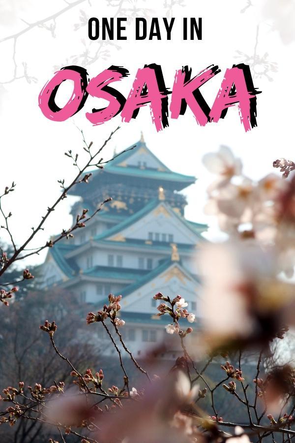 One day in Osaka itinerary
