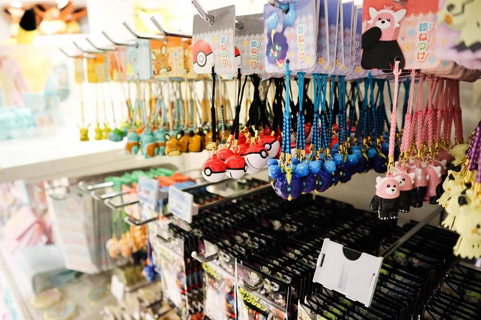 Osaka Pokemon Center accessories