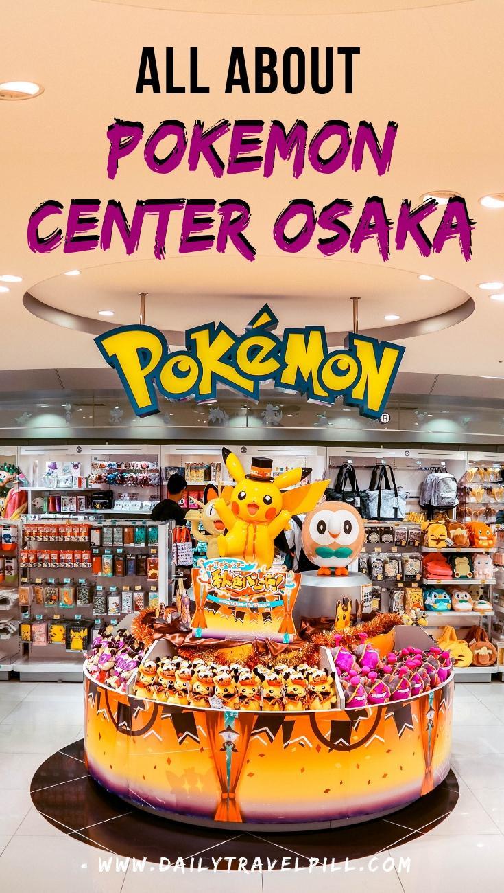 Osaka Pokemon Center entrance