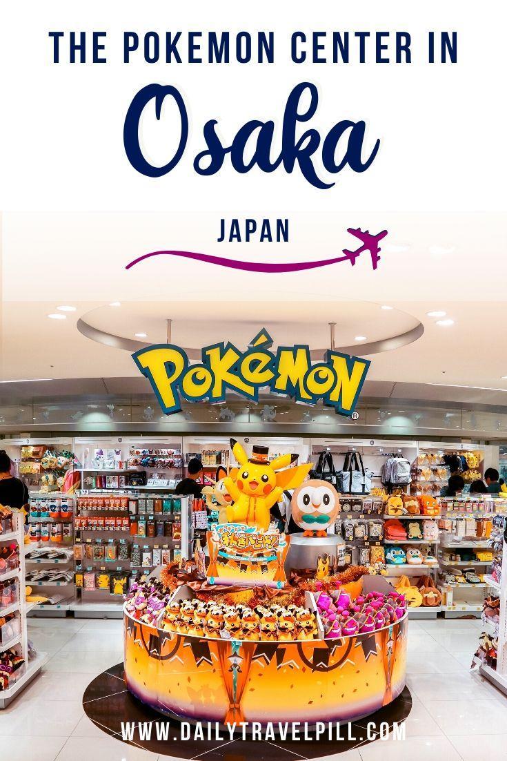 Osaka Pokemon Center, Japan