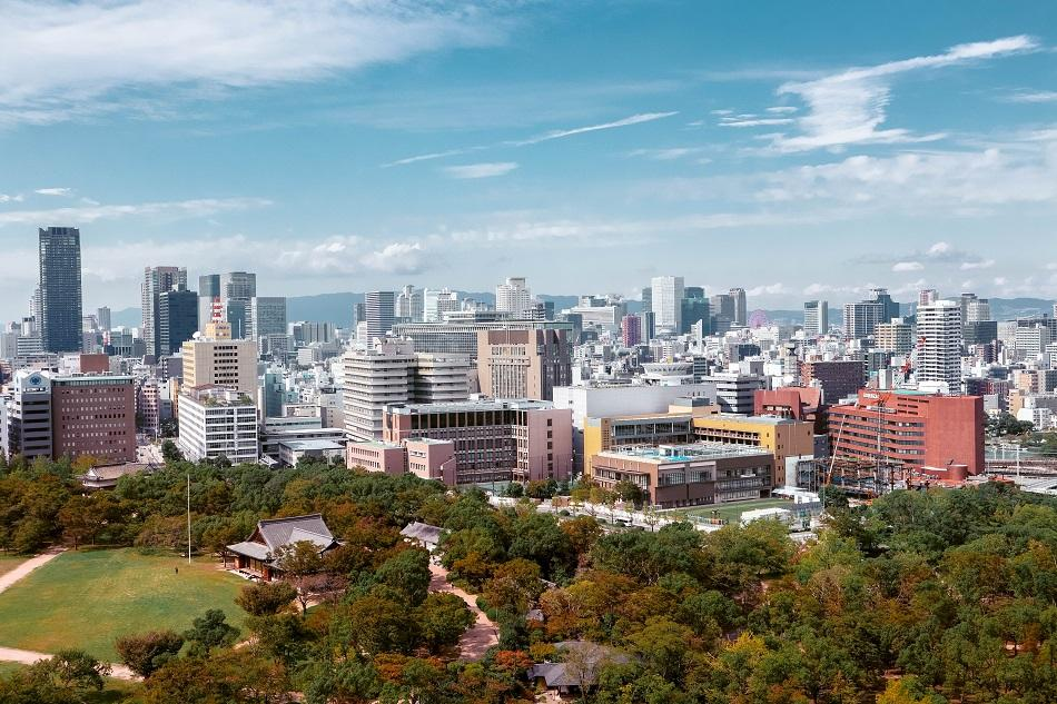 View from the Osaka Castle