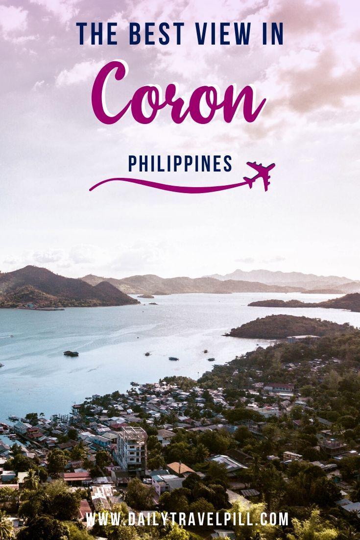 Hiking to Mount Tapyas Coron in Philippines