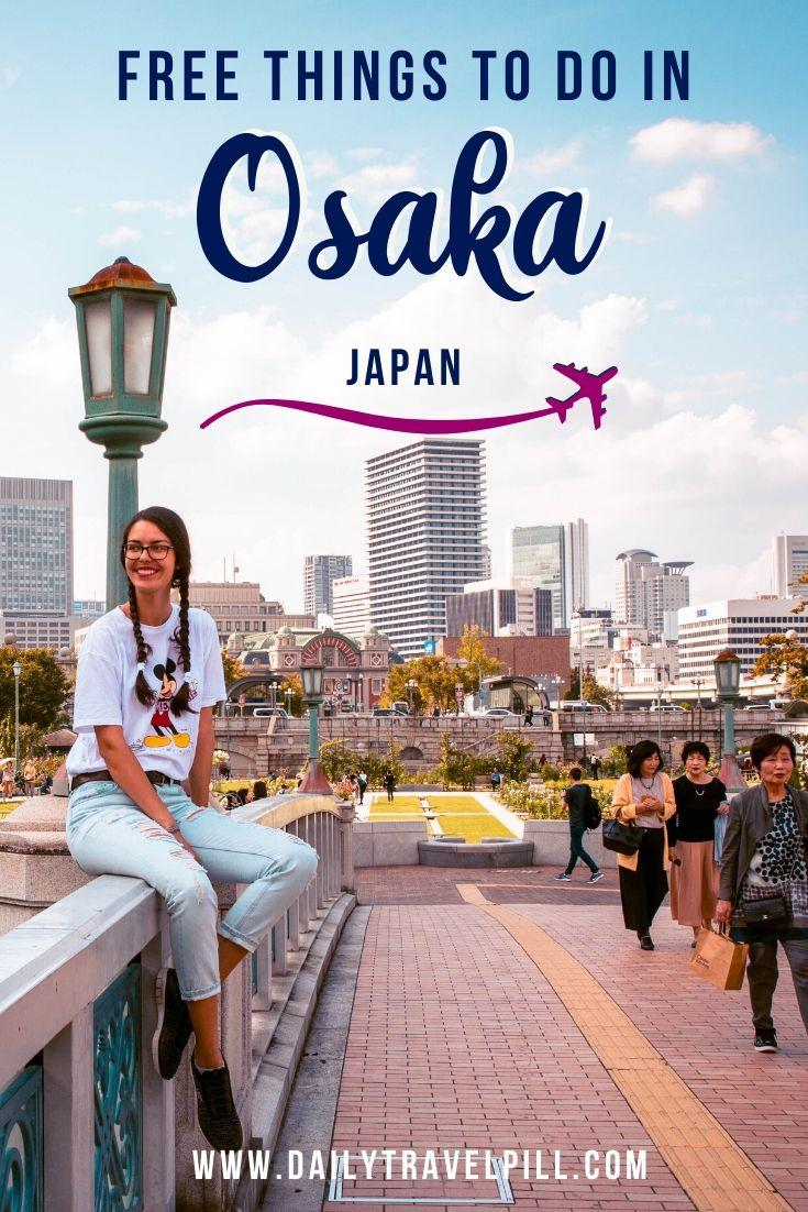 Free things to do in Osaka if you're on a budget
