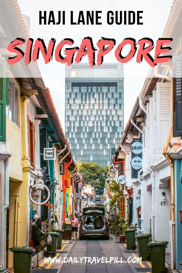 Haji Lane, Singapore guide