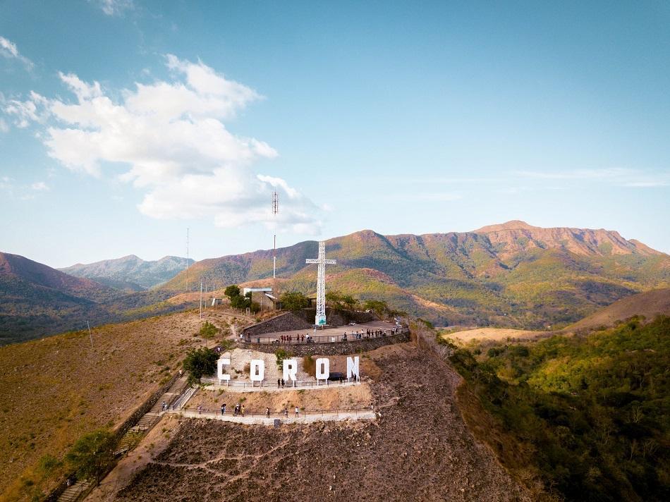 Mt. Tapyas, Coron cross and view platform