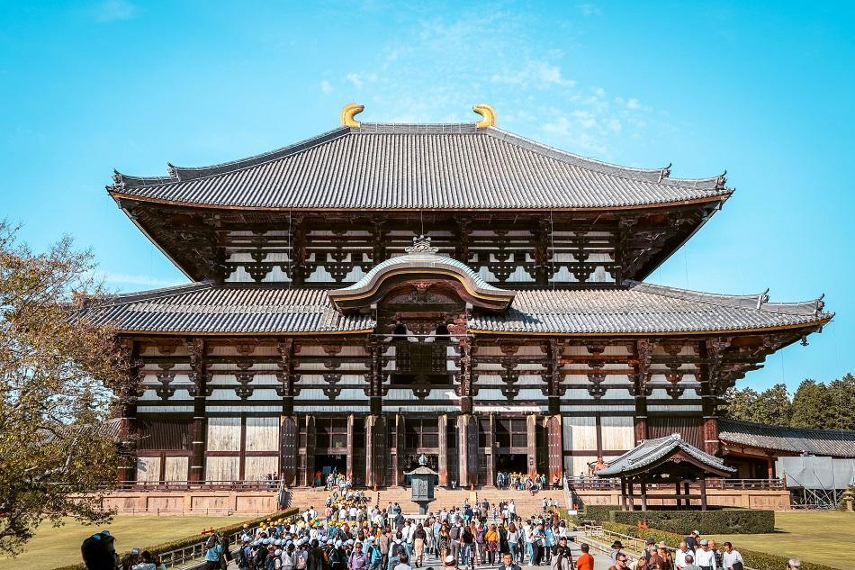 Temple at Nara Park Japan