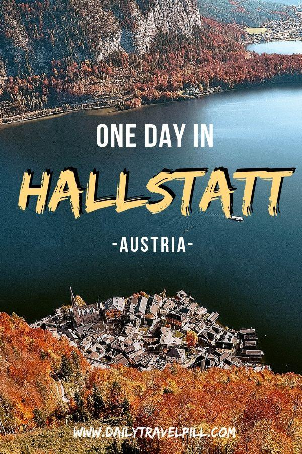 Hallstatt one day itinerary