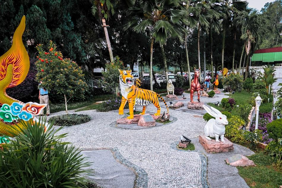 Thean Hou Temple, Luala Lumpur Chinese zodiac