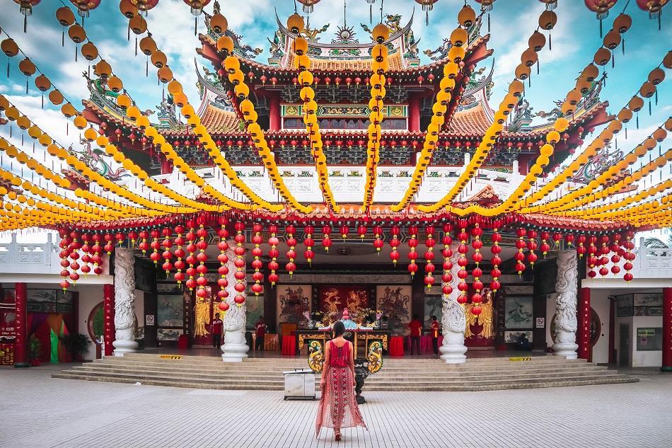Thean Hou Temple, Luala Lumpur main hall