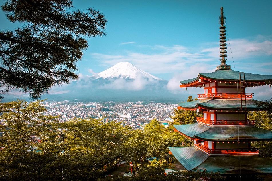 Chureito PAgoda near Kawaguchiko