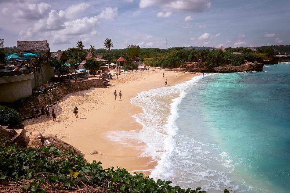 Dream Beach Nusa Lembogan view