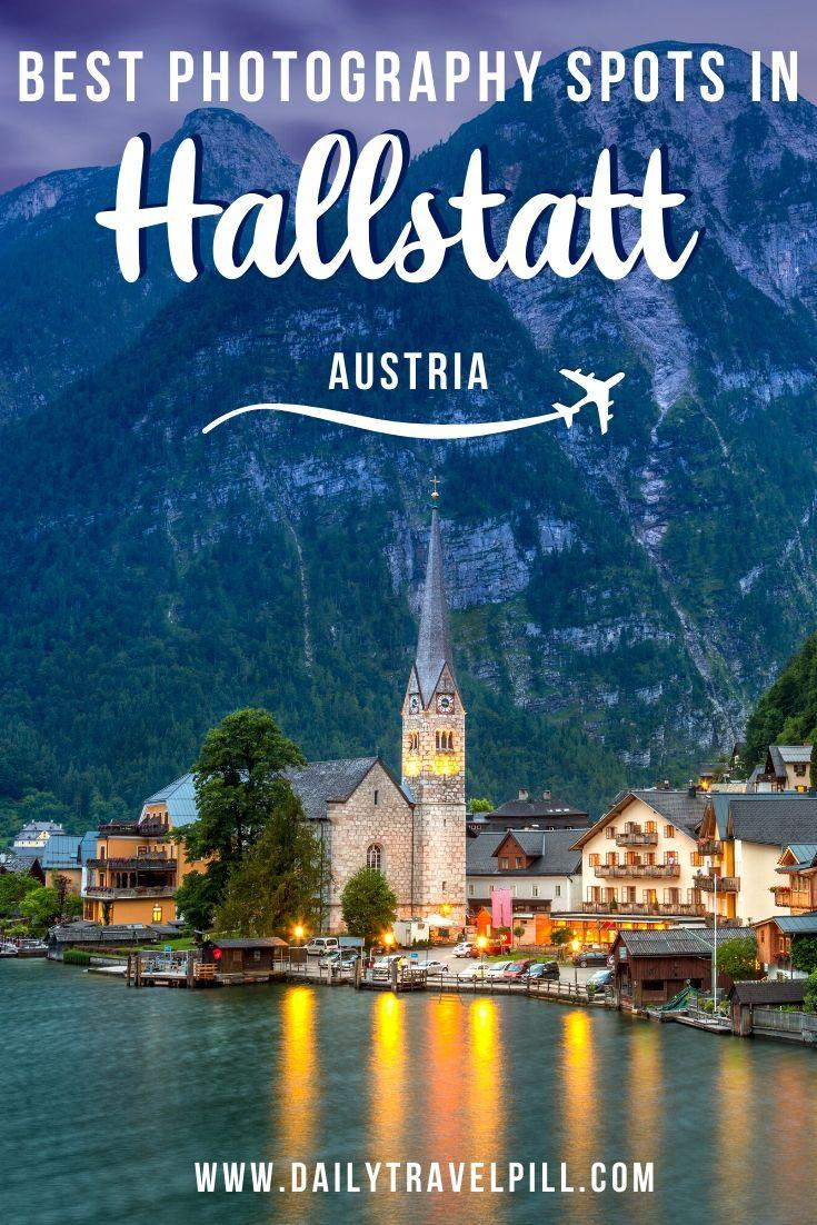 Hallstatt famous viewpoint