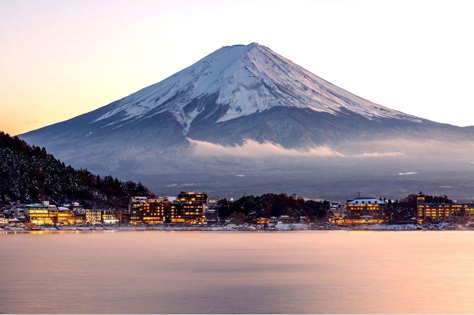 Mt Fuji from Kawaguchiko