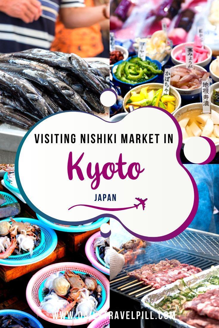 Nishiki Market and Teramachi Street in Kyoto