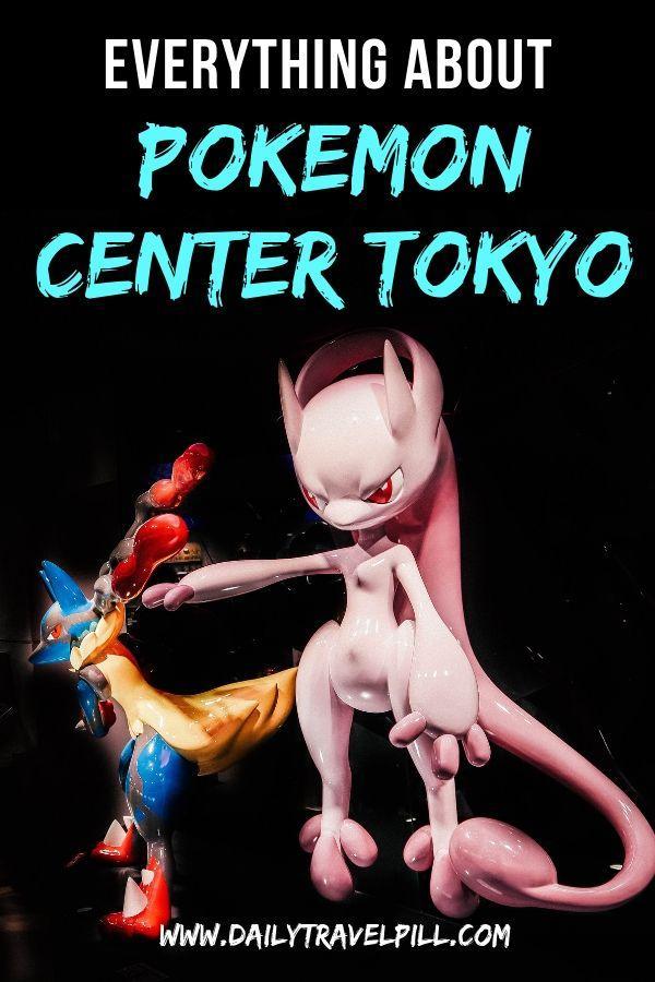 Tokyo Pokecenter guide