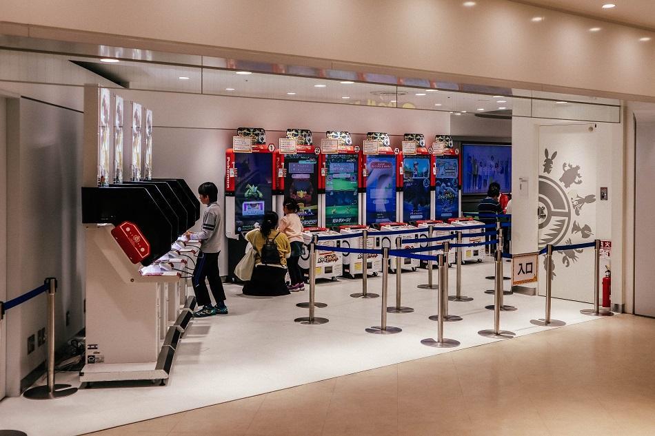Tokyo Pokemon Center Store electronic games