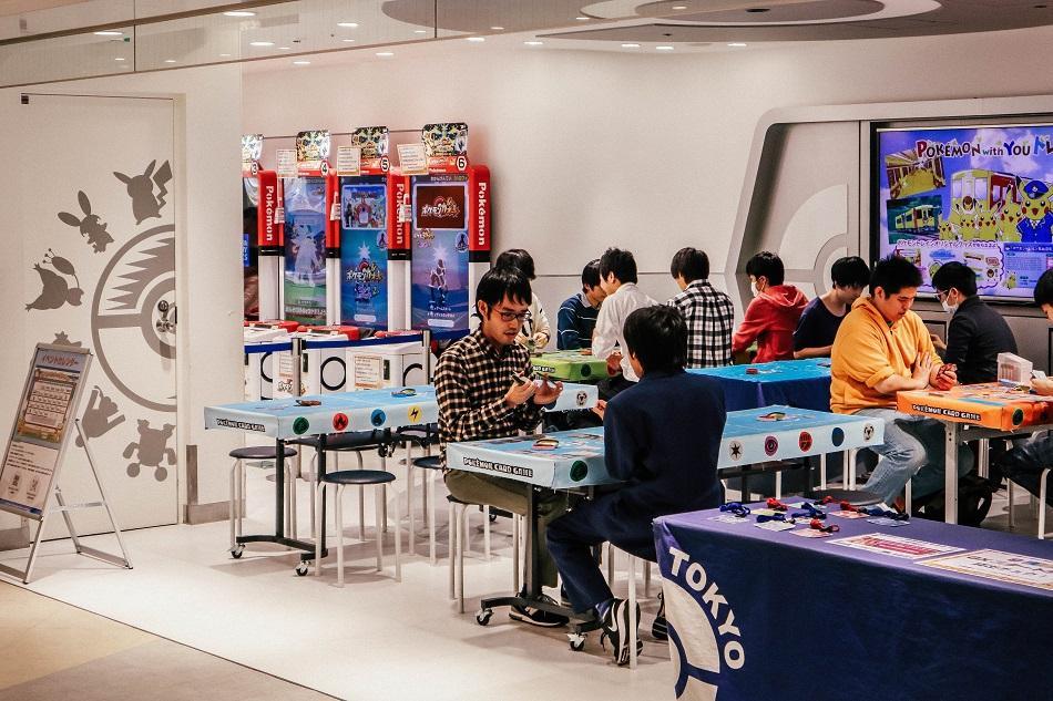 Tokyo Pokemon Center Store card games
