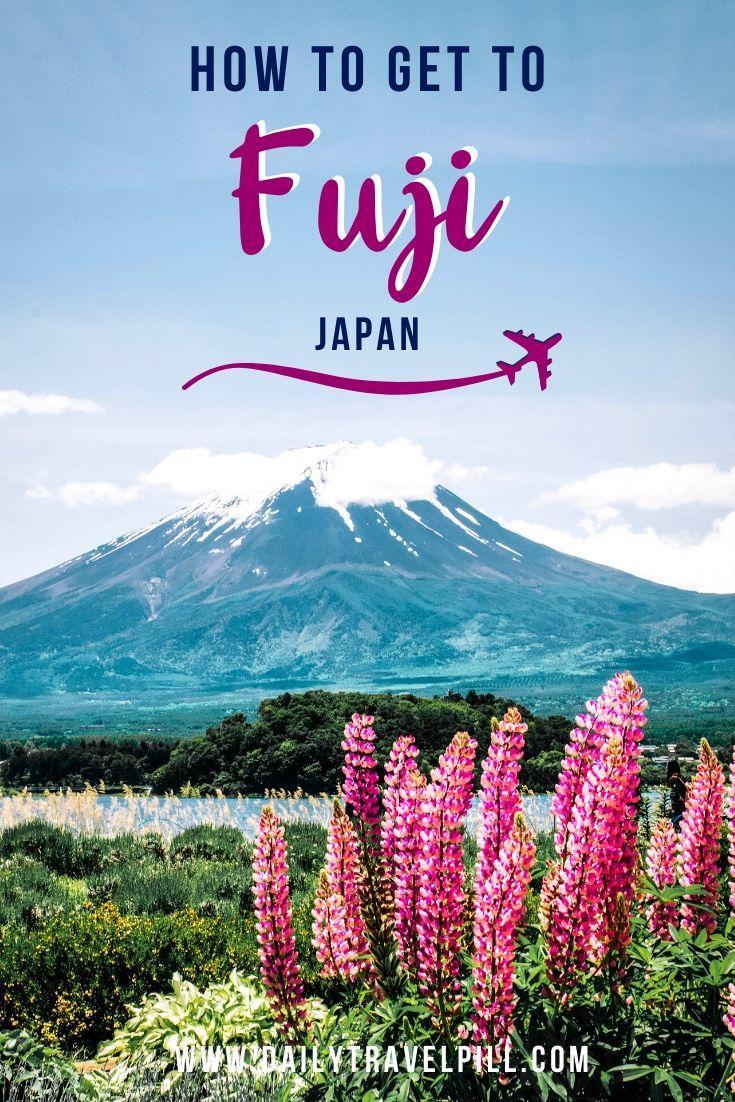How to get from Tokyo to Kawaguchiko, Mount Fuji - transport options