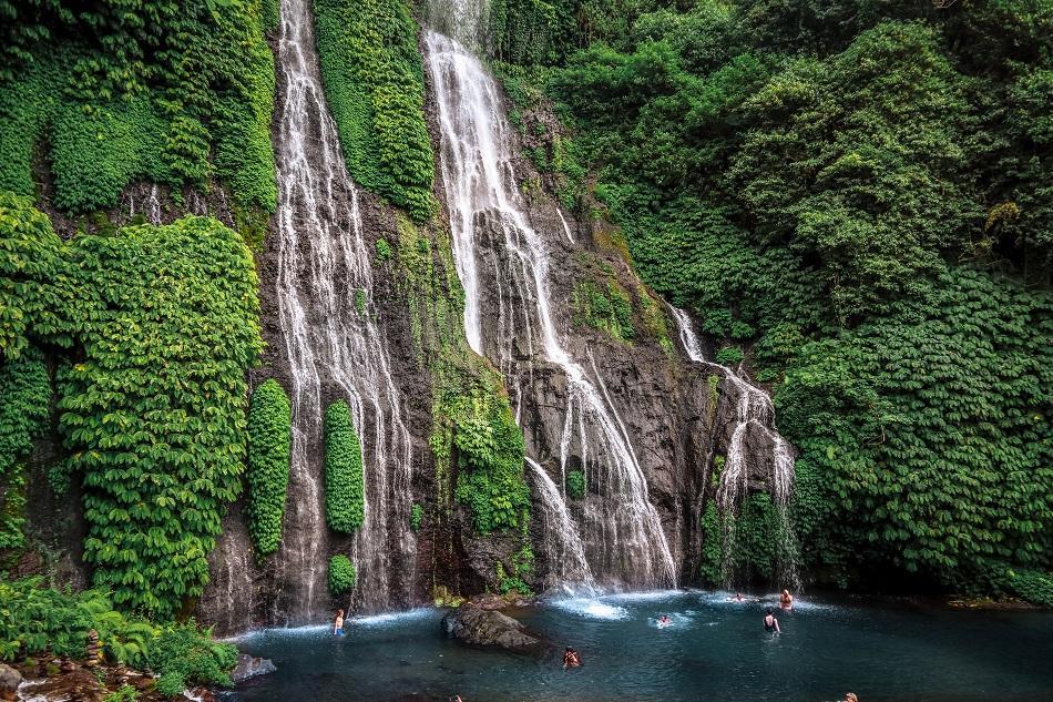 Banyumala Twin Waterfall, Bali