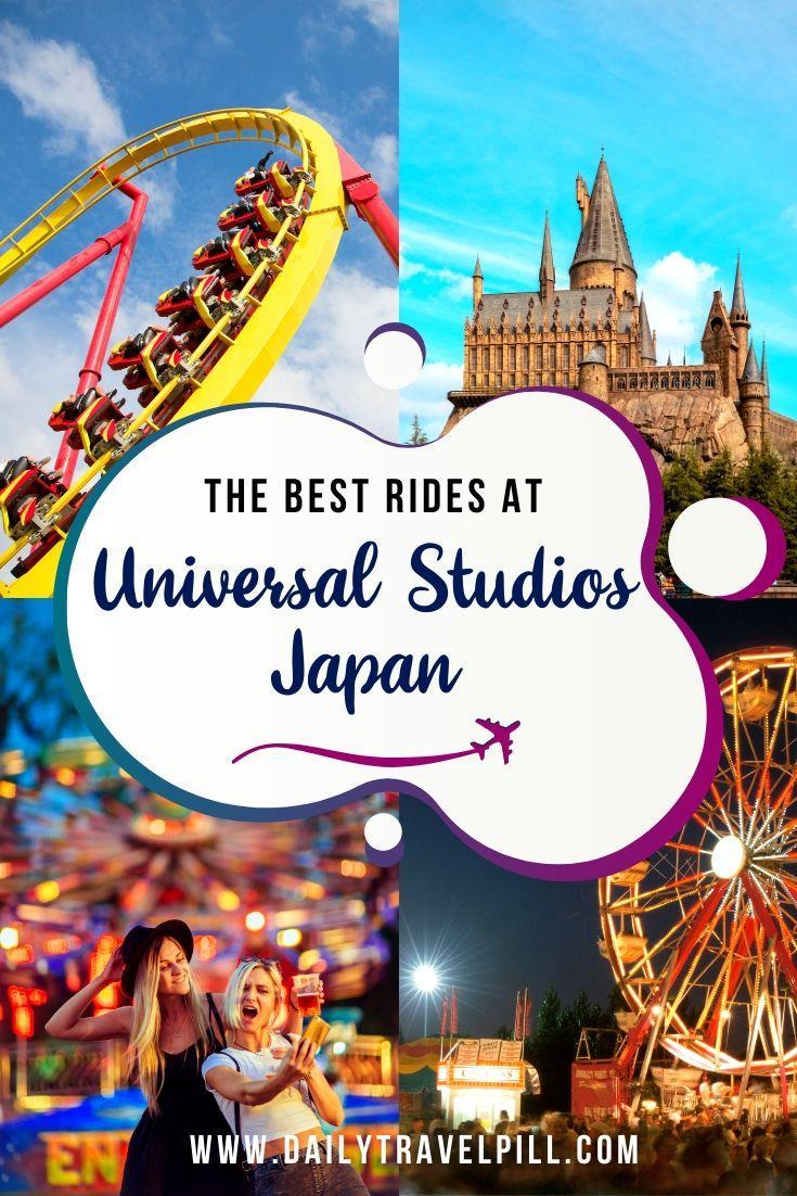 The best rides at Universal Studios Japan Osaka