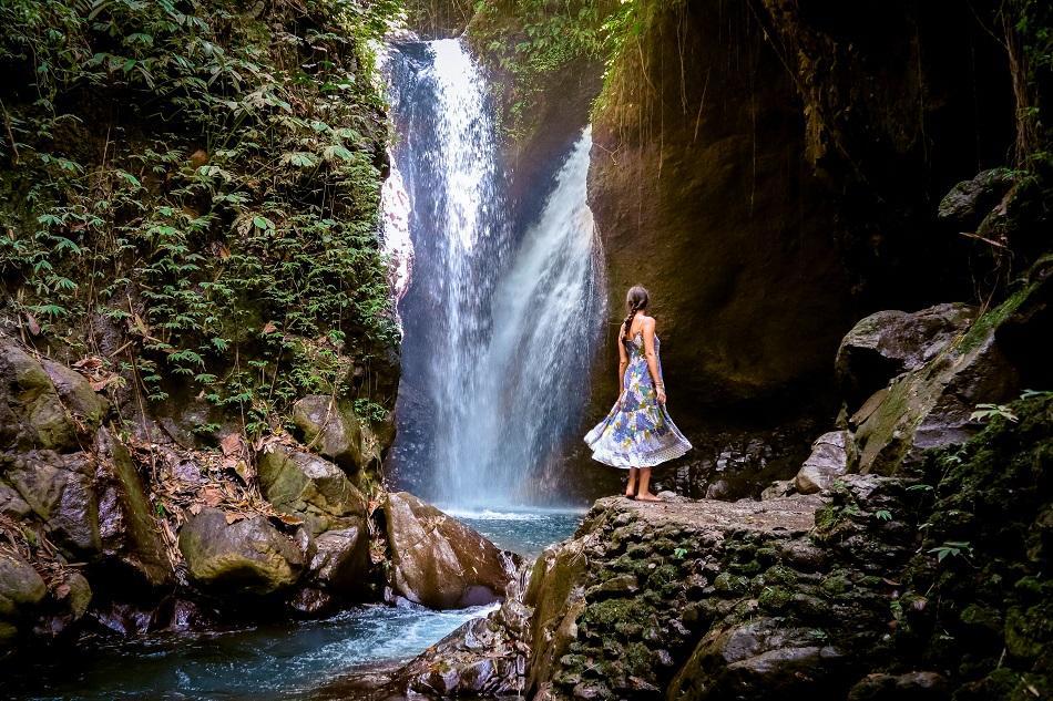 Gitgit Twin Waterfall, Bali