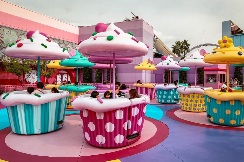 Hello Kitty tea party at Universal Studios Japan